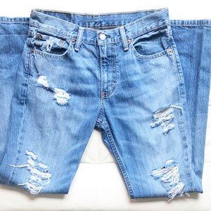 Men's Levi's 511 Distressed Jeans 30x30